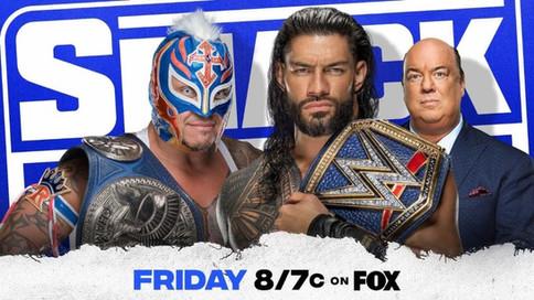 WWE: Rey Mysterio vs. Roman Reigns dentro de Hell in a Cell ESTA NOCHE en SmackDown