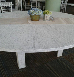 Wood table for 10 people