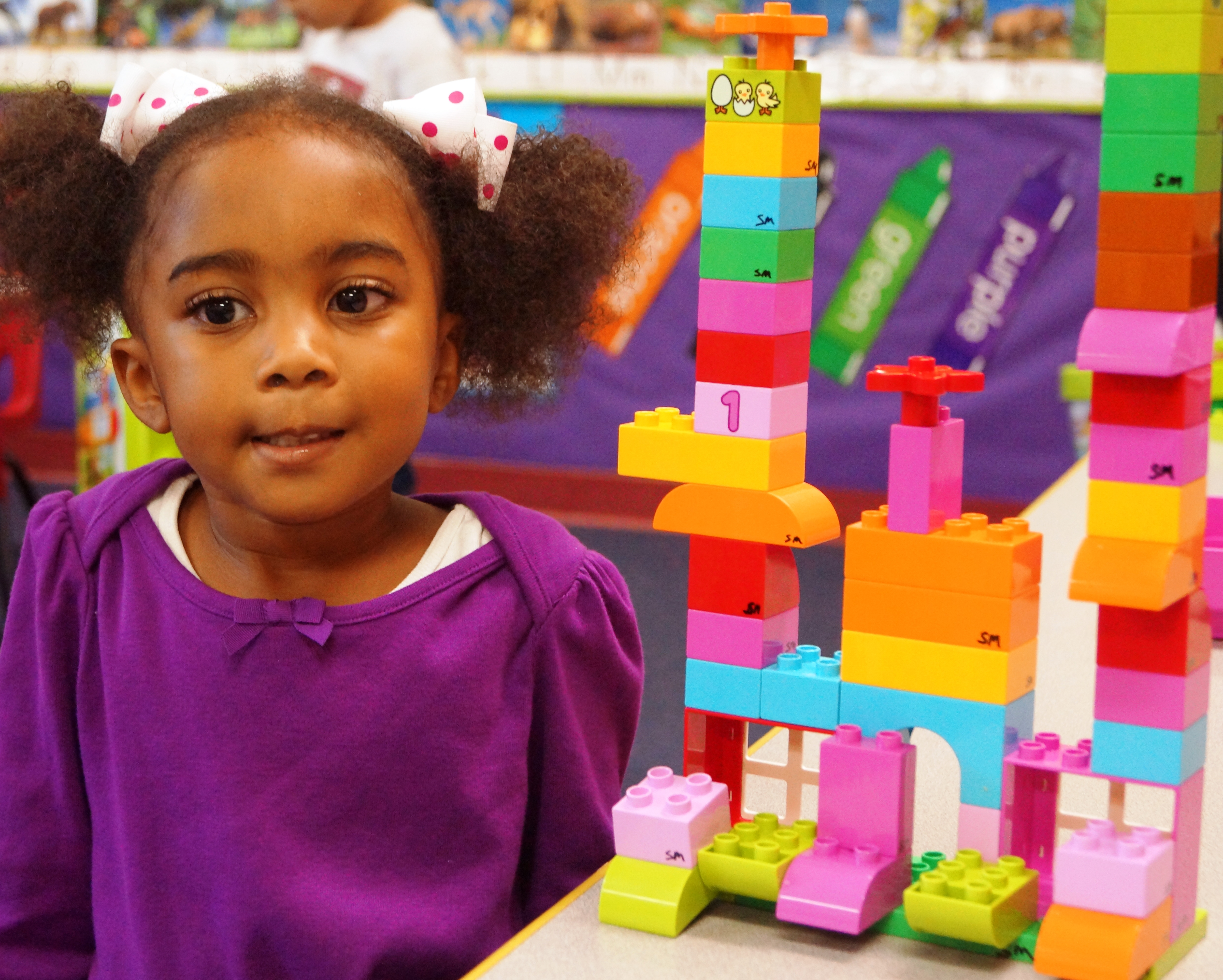 Lego Education for constructing castles!