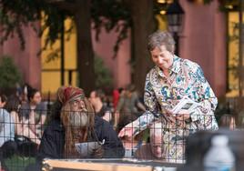 Washington Square Music Festival Handing