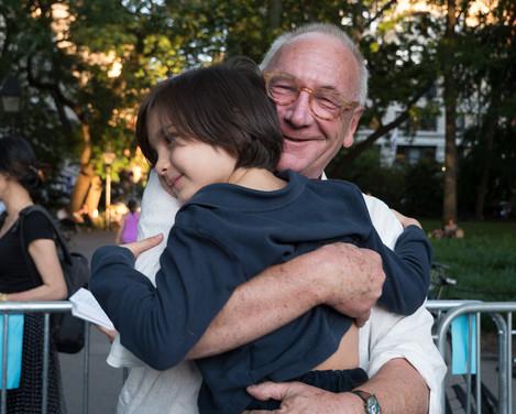 Artistic Director Lutz Rath with grandson