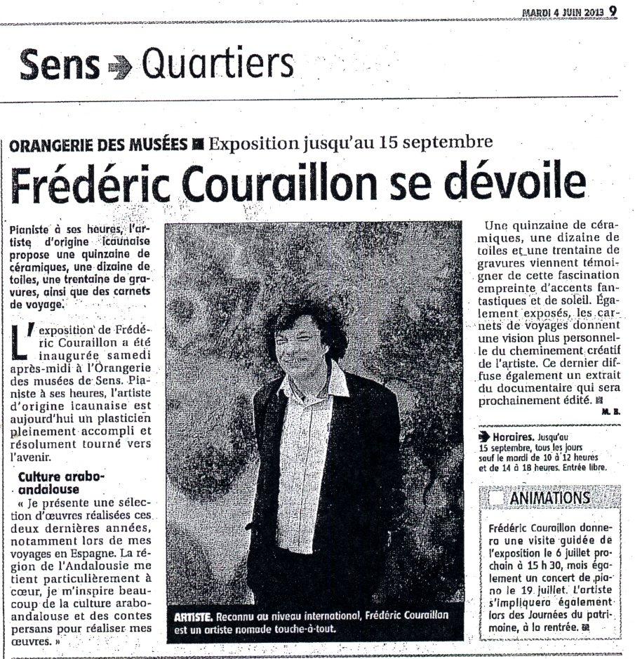 L'Yonne républicaine - 4 juin 2013