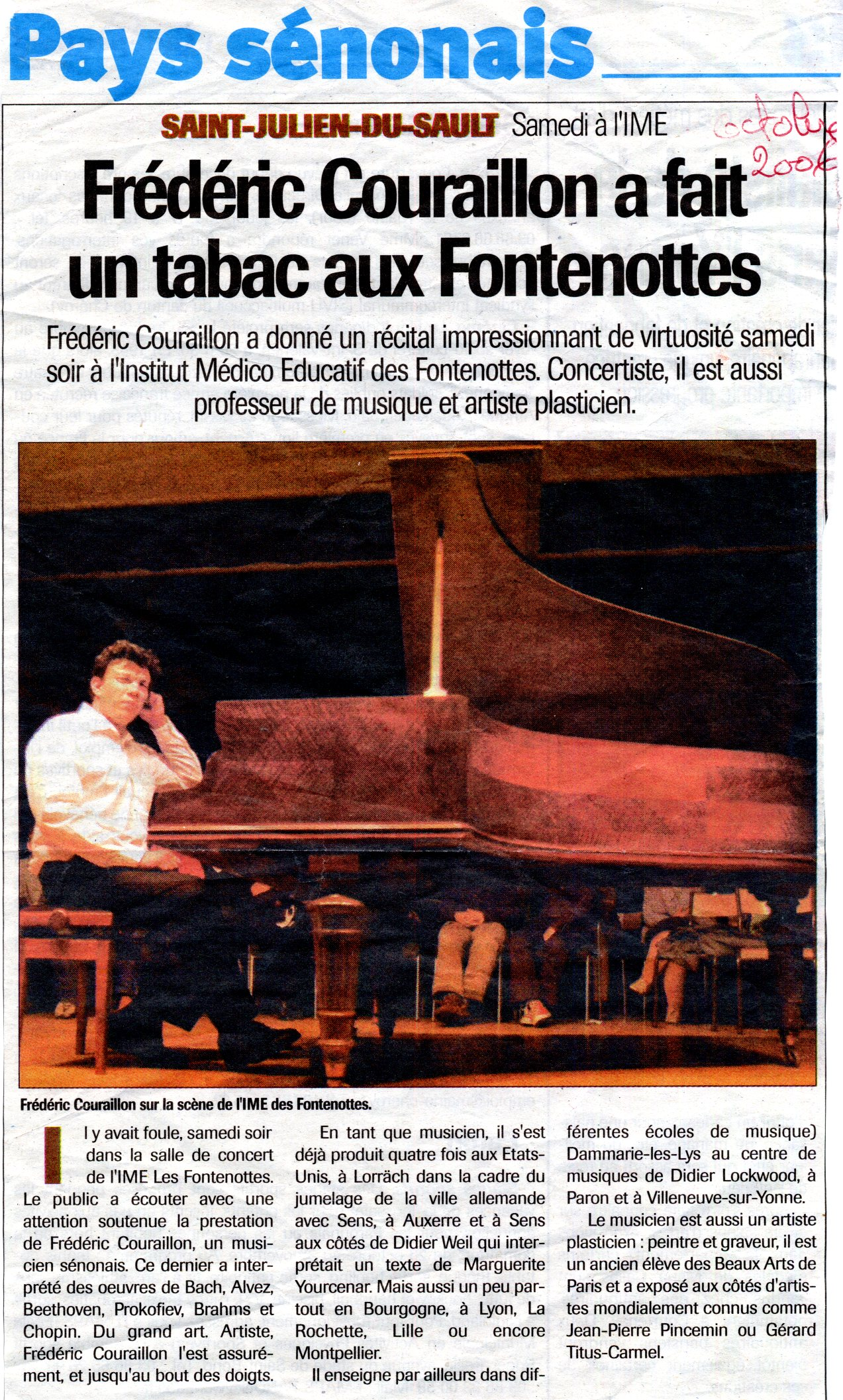 L'Indépendant - oct. 2006