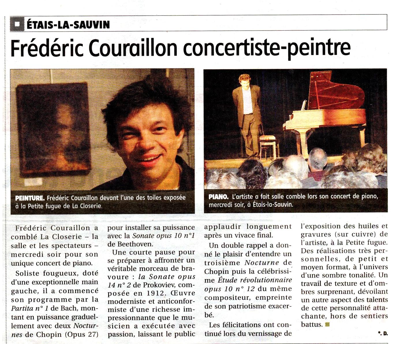 L'Yonne républicaine - 8 août 2014