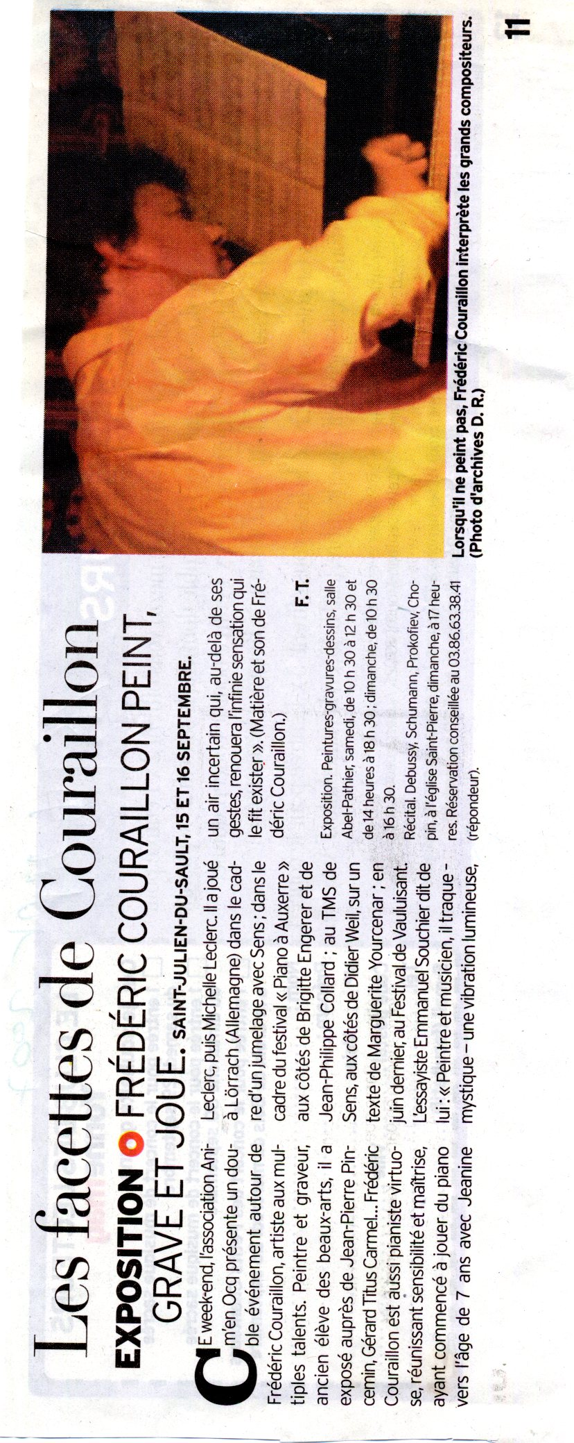 L'Yonne républicaine - 15 sept 2007