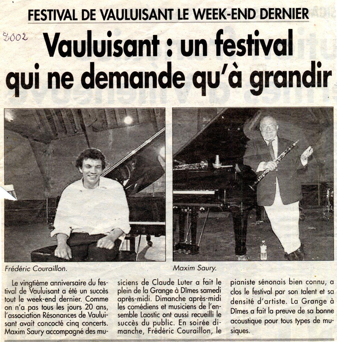 L'Yonne républicaine - 2002