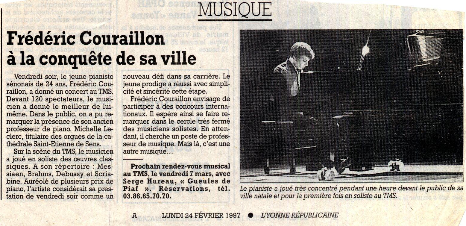 L'Yonne républicaine - 24 fév. 1997