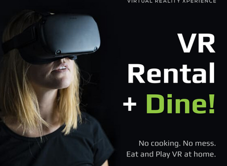 New VR home rental + dine packages
