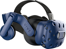 Put on a HTC Vive Pro headset and play together inside over 40+ multiplayer games