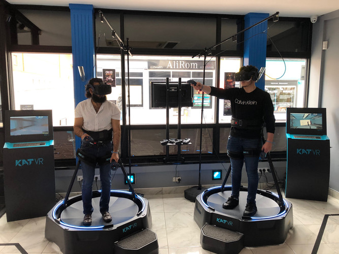 The premium fun VR gaming experience