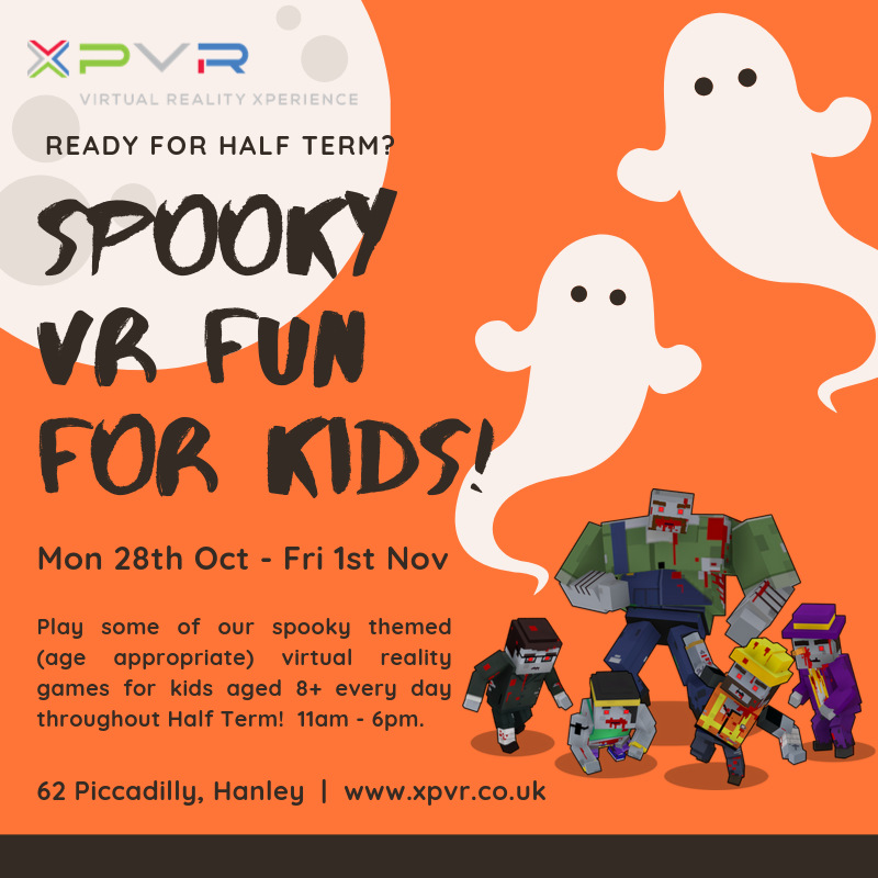 Spooky VR fun for kids