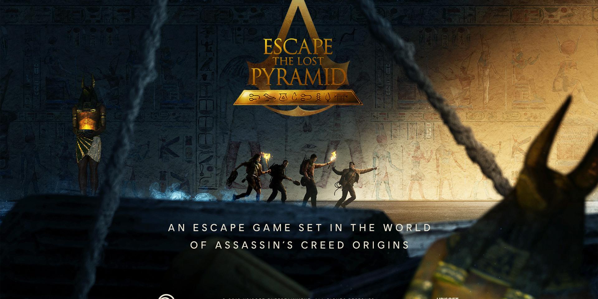 ASSASSINS CREED ESCAPE GAME