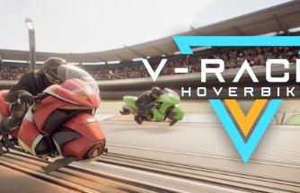 V-Racer Hoverbike VR game