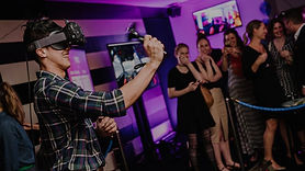 VR birthday party corporate event group
