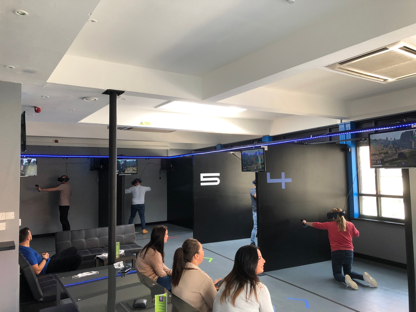 VR arenas