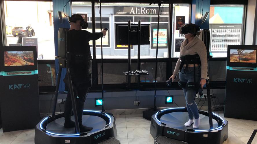 XP-VR walkstation video