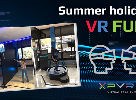 6 weeks holiday family VR fun!