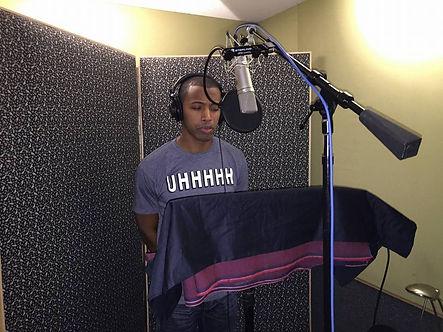 John F. Thomas_Recording for Country Radio Station.jpg