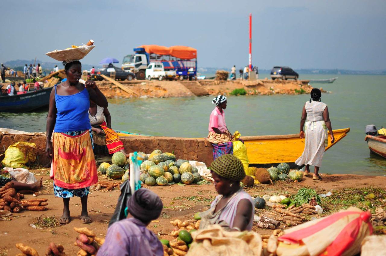 Ggaba Markt Uganda