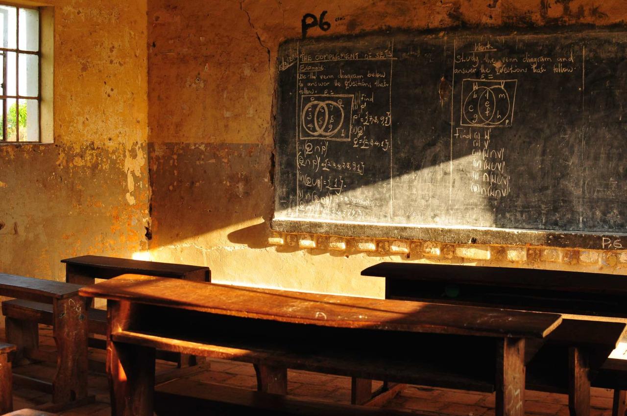 Klassenzimmer Uganda