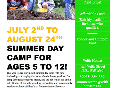 Summer Day Camp @VeithHouse