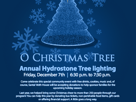 Dec 7th Hydrostone Tree Lighting