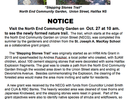 Stepping Stones Trail Oct 27th