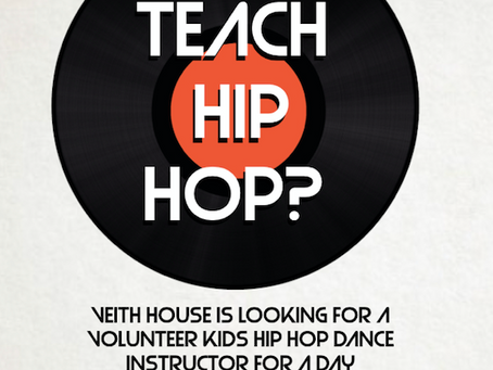 Teach Hip Hop Dance! At Veith House