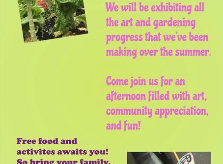 Aug 22nd Veith House Art Showcase!