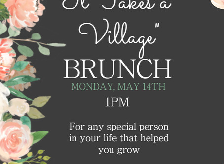 Brunch @Veith House May 14th