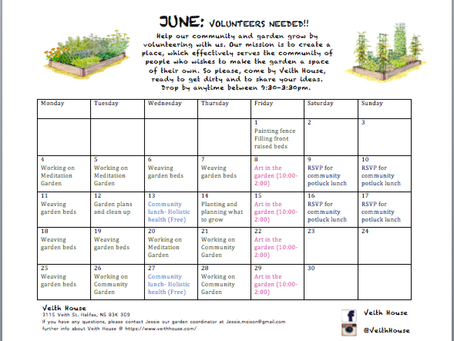 Volunteers needed for Community Gardening!