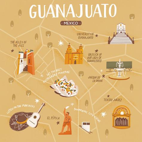 illustrated-map-of-guanajuato-tammy-chew