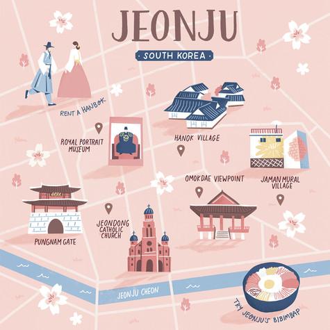 illustrated-map-of-jeonju-tammy-chewjpg