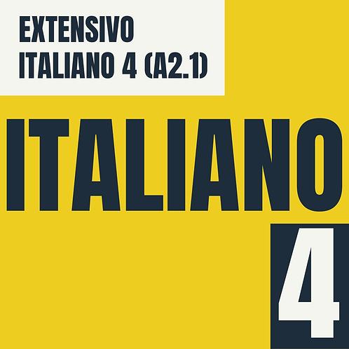 Italiano 4  (A2.1)