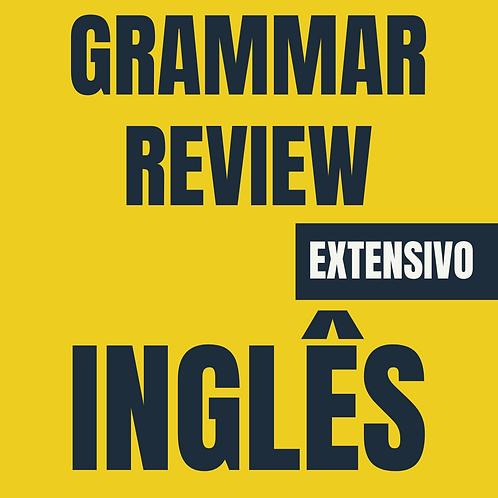 Inglês: Grammar Review
