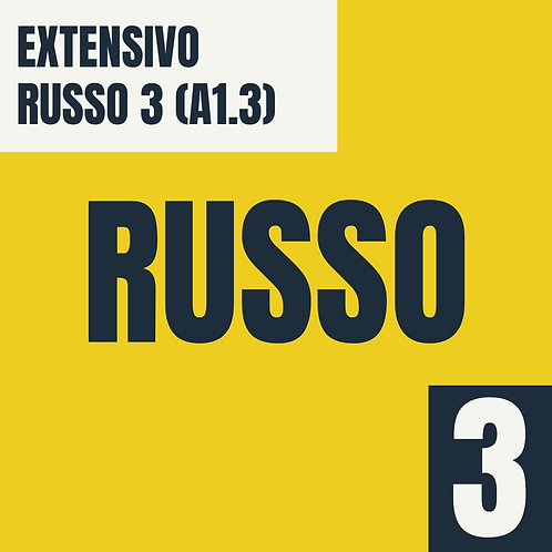Russo 3 (A1.3 - Básico 1)