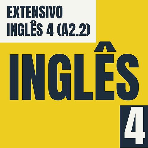 Inglês 4 (A2.2)