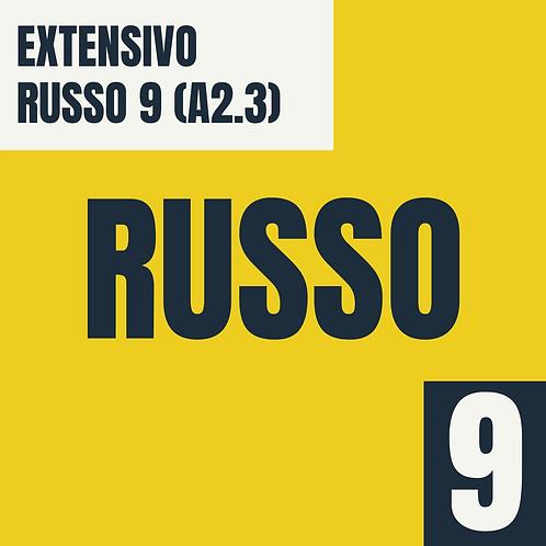 Russo 9 (A2.3 - Básico 2)