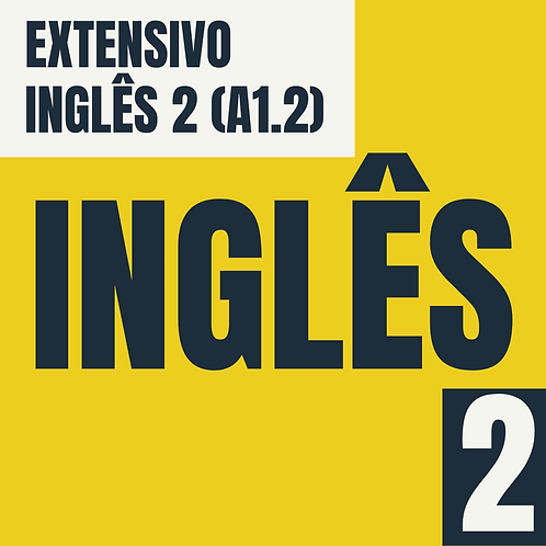 Inglês 2 (A1.2)