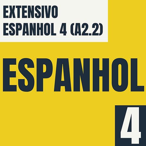 Espanhol 4 (A2.2)