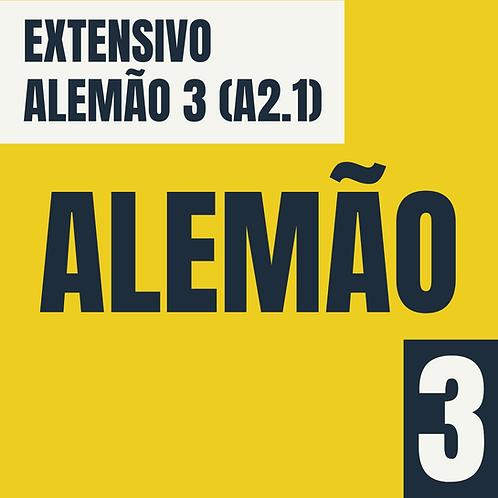 Alemão 3 (A2.1)