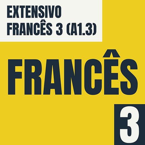Francês 3 - (A1.3)