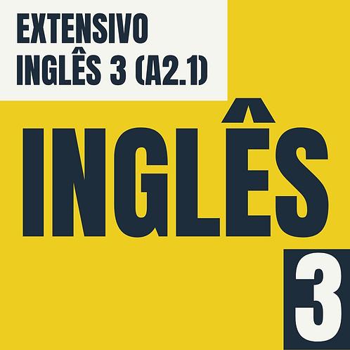 Inglês 3 (A2.1)