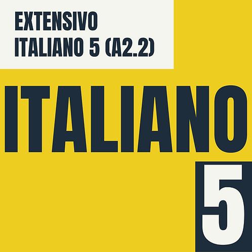 Italiano 5 (B2.2)
