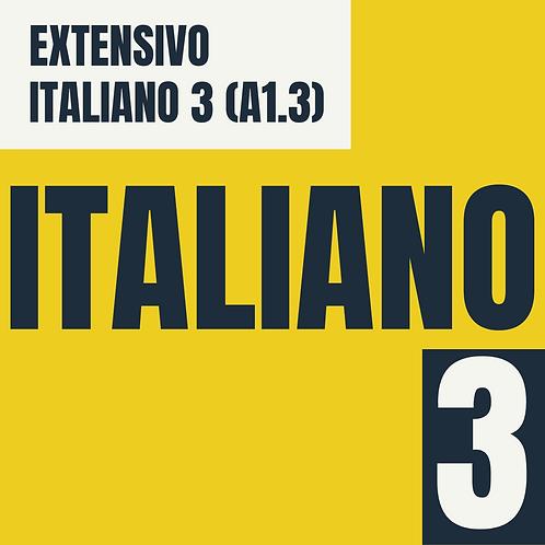 Italiano 3 (A1.3)