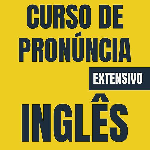 Inglês: Curso de Pronúncia