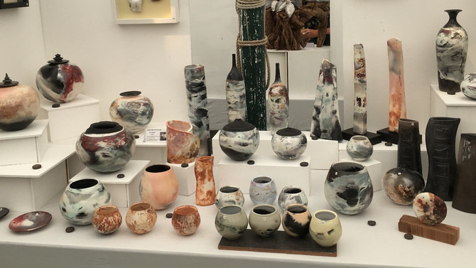 A weekend at Art in Clay Hatfield