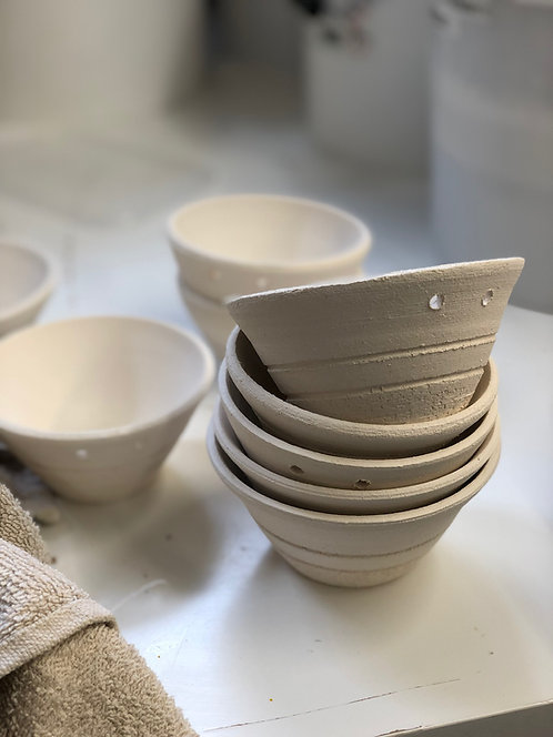 8 weeks Course Pottery Introduction