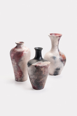 Pit Fired Vases