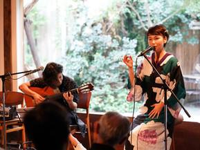 8月26日(土)MIDORI × mokichi wurst cafe 夏の夜のBossa Novaライブ 報告